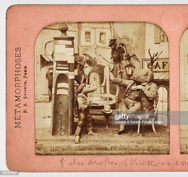 Un petit chousi vous ple Va travailler petit faineant' c 1865 A collection of photographs equipment and printed material tracing the history of...