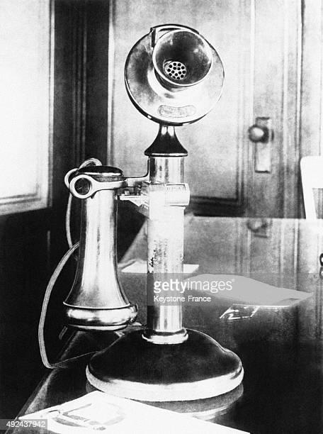 Un telephone muni d'un systeme permettant d'evaluer le nombre et la duree des communications telephoniques