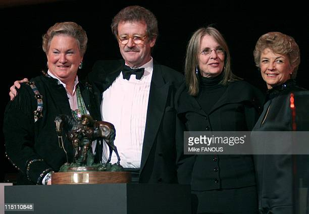 Una Bella Gala... A Tribute to Sergio Leone' event in Los Angeles, United States on October 07, 2005 - Co-Chair Lorna Reed, Sir Christopher Frayling,...