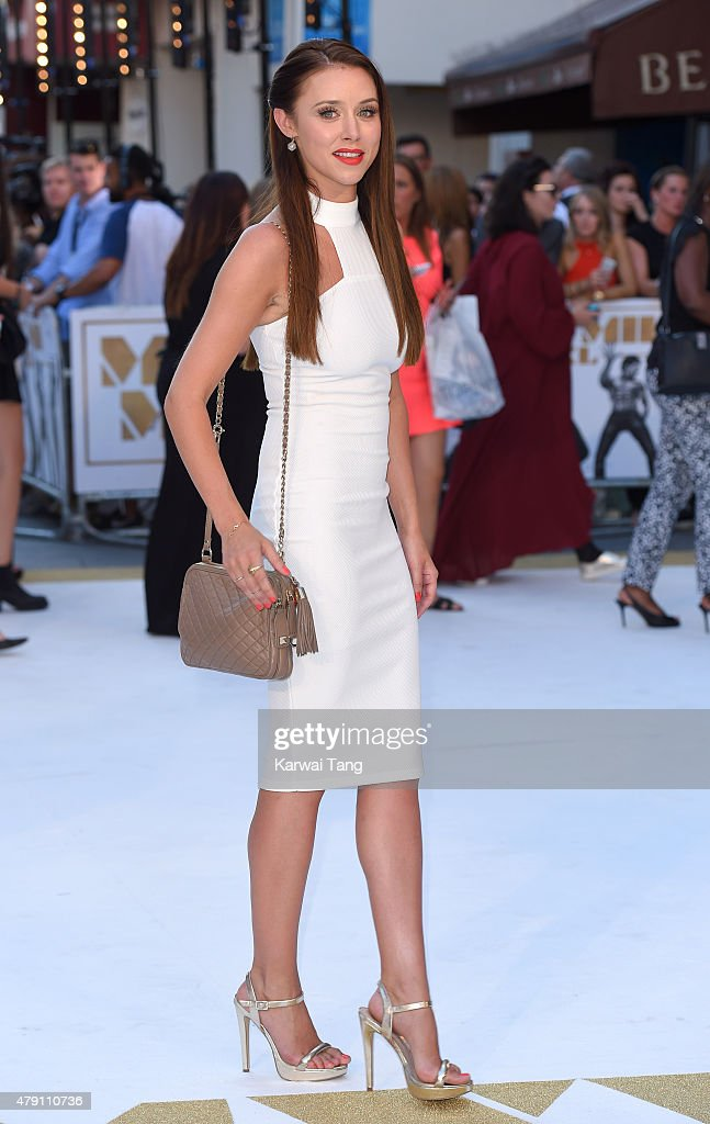 Una Foden attends the European Premiere of 'Magic Mike XXL' at Vue West End on June 30, 2015 in London, England.