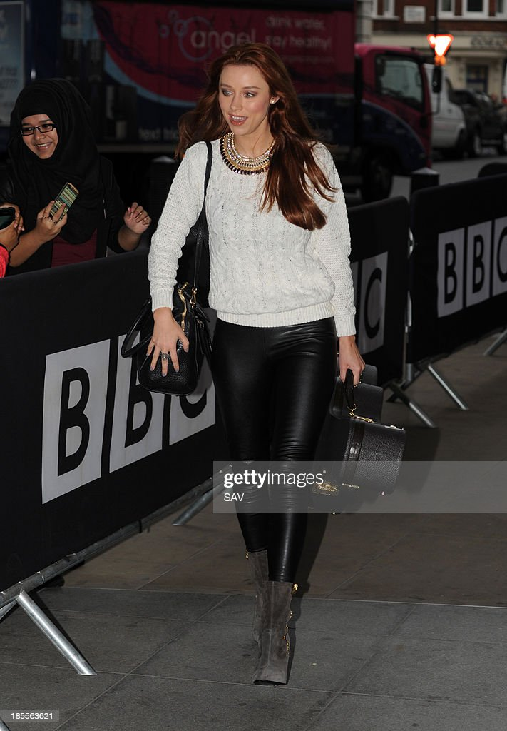 Una Foden pictured at Radio 1 on October 22, 2013 in London, England.