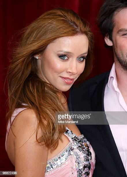 Una Healy attends 'An Audience With Michael Buble' at The London Studios on May 3, 2010 in London, England.