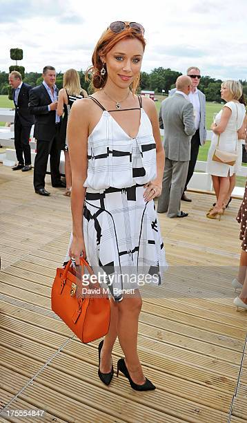Una Healy attends day 2 of the Audi Polo Challenge at Coworth Park Polo Club on August 4, 2013 in Ascot, England.
