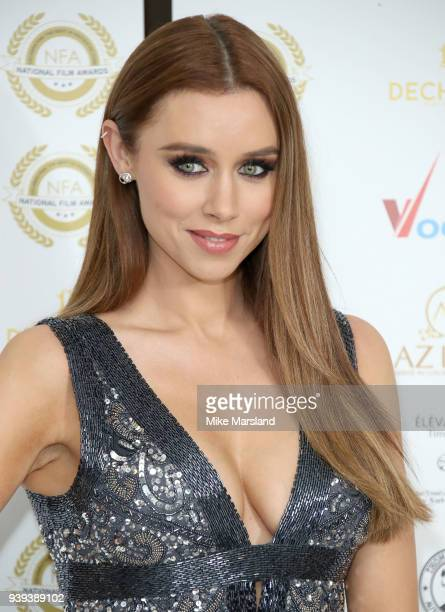 Una Healy attends the National Film Awards UK at Portchester House on March 28 2018 in London England