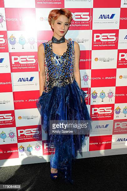 Una meets with the press during the Japan Expo at Paris-nord Villepinte Exhibition Center on July 6, 2013 in Paris, France.