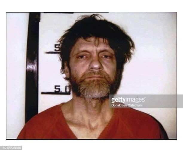 Unabomber Ted Kaczynski mugshot in April 1996