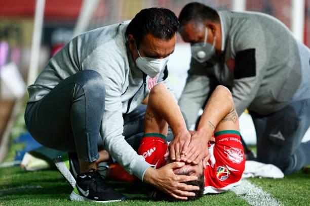 MEX: Necaxa v Atletico San Luis - Torneo Guard1anes 2021 Liga MX