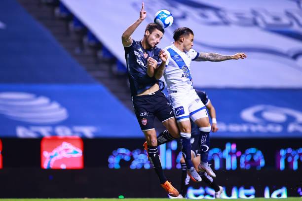 MEX: Puebla FC v Necaxa - Torneo Guard1anes 2021 Liga MX