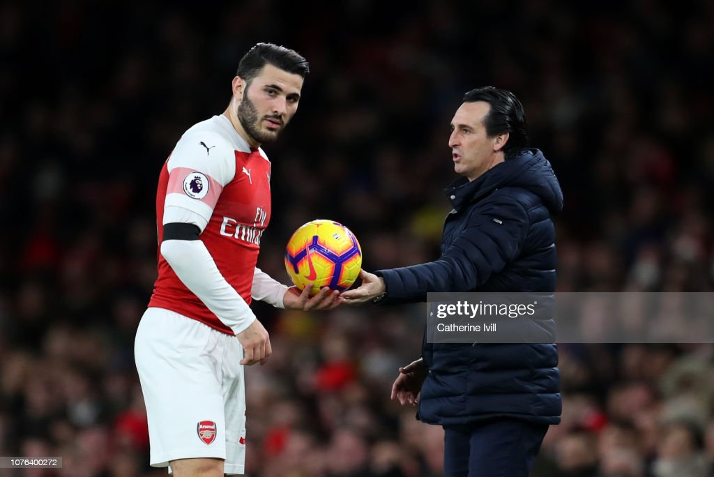 Arsenal FC v Fulham FC - Premier League : News Photo