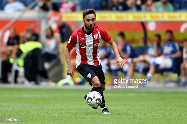 Unai Lopez of Bilbao runs with the ball during the third place match between MSV Duisburg and Athletic Bilbao at Schauinsland-Reisen-Arena on July...