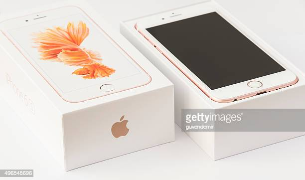 Unboxing Rose gold Apple iPhone 6s