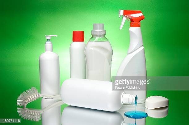Unbranded cleaning products taken on January 23 United Kingdom.