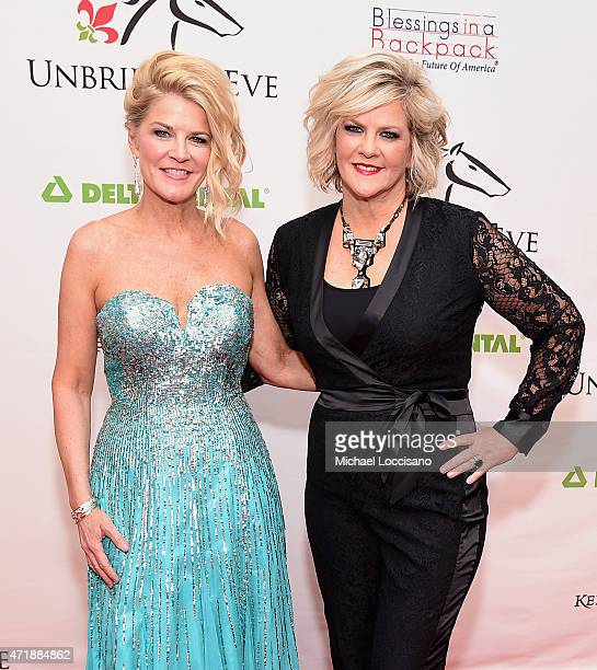 Unbridled Eve CoFounders Tonya York Dees and Tammy York Day attend the 141st Kentucky Derby Unbridled Eve Gala at Galt House Hotel Suites on May 1...