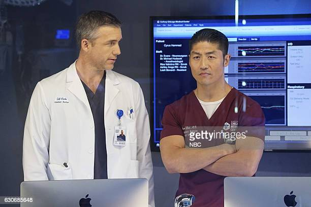 MED Uncharted Territory Episode 209 Pictured Jeff Hephner as Jeff Clarke Brian Tee as Ethan Choi