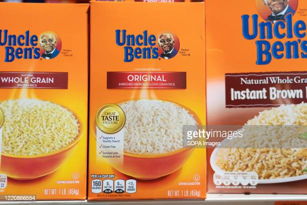 Uncle Ben's products seen displayed on supermarket shelves After decisions by Aunt Jemima and Uncle Bens to overhaul their imaging in the wake of...