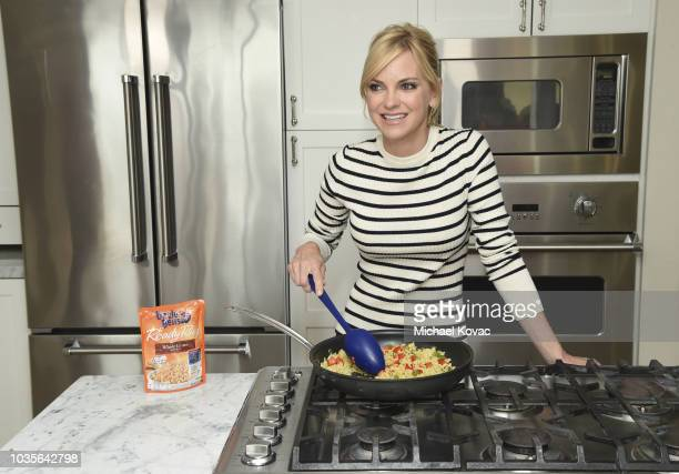 Uncle Ben's¨ teamed up with actress Anna Faris to launch 'The Homework Pass Challenge Program' on August 30 2018 in Los Angeles California
