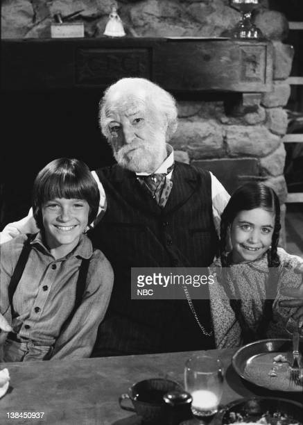 PRAIRIE Uncle Jed Episode 15 Aired 2/1/82 Pictured Jason Bateman as James Cooper Ingalls EJ AndrT as Uncle Jed Cooper Missy Francis as Cassandra...