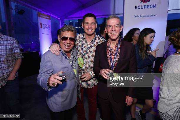 Uncle Johnny and Elvis Duran attend the Food Network Cooking Channel New York City Wine Food Festival Presented By CocaCola CocaCola Backyard BBQ...