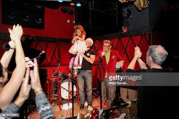 Uncle Johnny performs during the Elvis Duran Holiday Pageant at Rockwood Music Hall on December 12 2016 in New York City