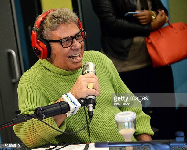Uncle Johnny visits The Elvis Duran Z100 Morning Show at Z100 Studios on December 17 2014 in New York City