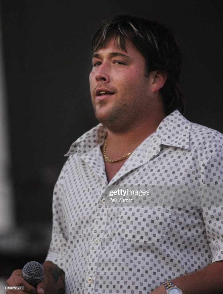Uncle Kracker in concert at the Michigan State Fair in Detroit
