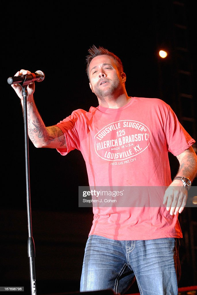 Uncle Kracker performs at Kroger's Fest-a-Ville on the Waterfront on April 27, 2013 in Louisville, Kentucky.