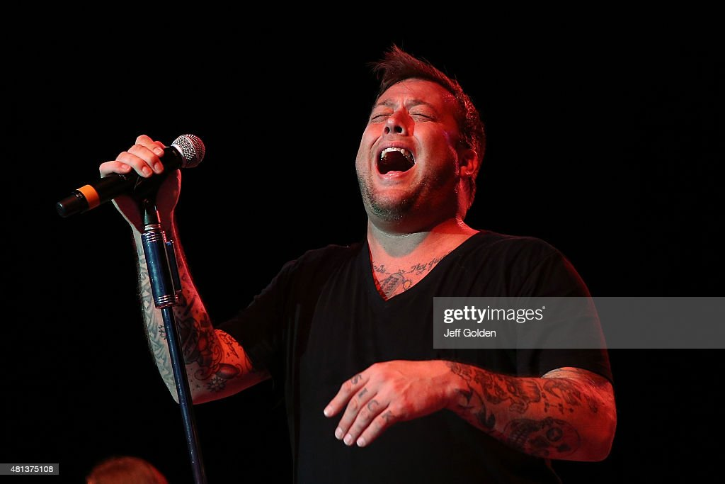 Uncle Kracker performs at The Greek Theatre on July 19, 2015 in Los Angeles, California.