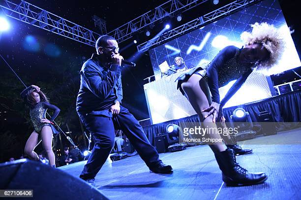 Uncle Luke performs during PAMM Presents Cashmere Cat Jillionaire and Special Guest Uncle Luke on December 1 2016 in Miami Florida