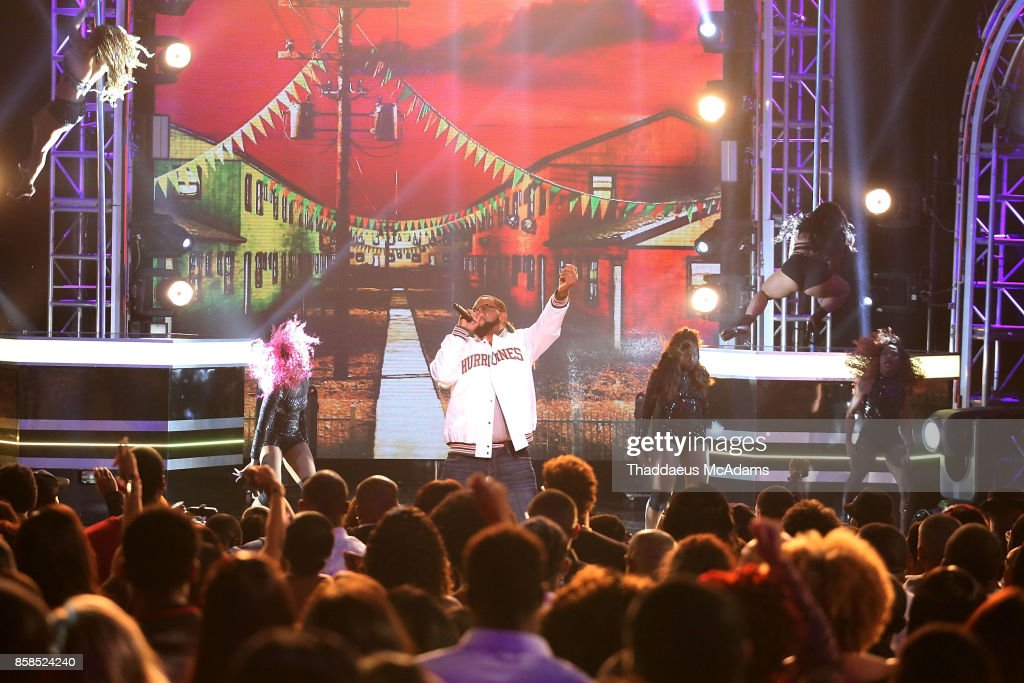 Uncle Luke performs onstage at BET Hip Hop Awards 2017 on October 6, 2017 in Miami Beach, Florida.