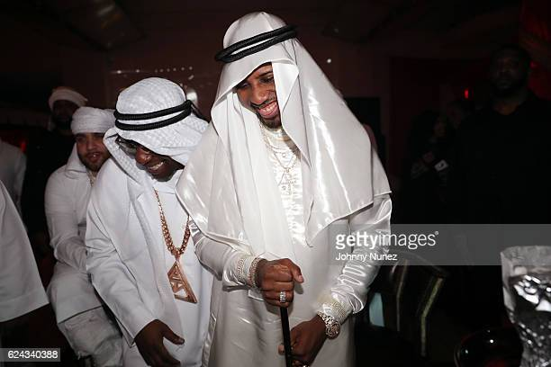 Uncle Murda and Fabolous attend Fabolous' A Night In FABU DHABI Birthday Celebration on November 18 2016 in New York City