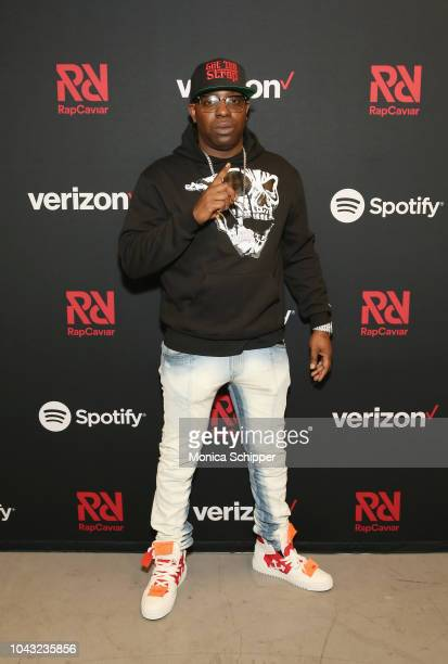 Uncle Murda attends Chance The Rapper to Headline Spotify's RapCaviar Live In Brooklyn in Partnership with Live Nation Urban and Verizon on September...