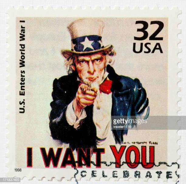 Uncle Sam Stamp