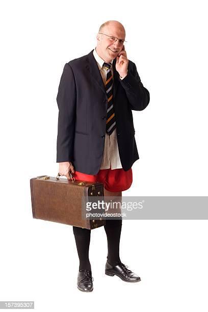 Unconcious businessman