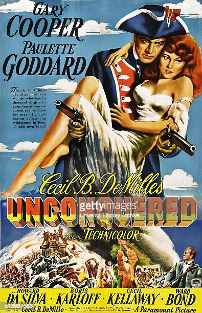 Unconquered is a 1947 adventure film produced and directed by Cecil B DeMille and starring Gary Cooper and Paulette Goddard The film depicts the...