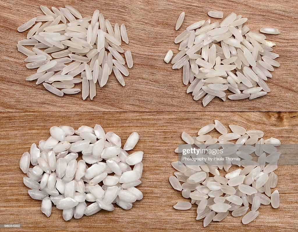 Uncooked Rices : Stock Photo