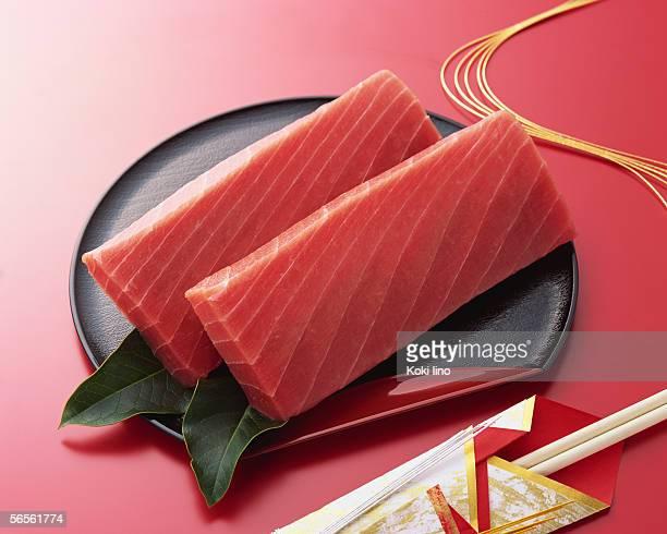 Uncooked tuna