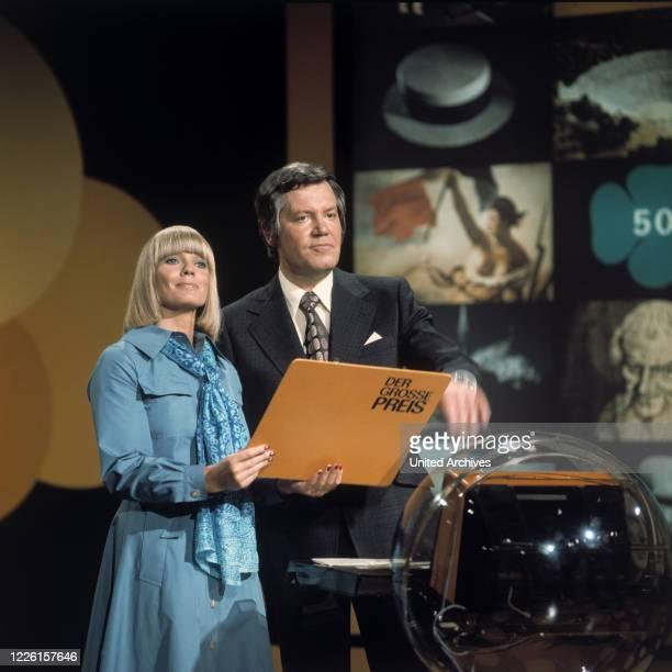 THOELKE und Assistentin BEATE HOPF Sendung vom 991975