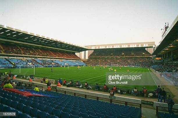 A general view of Villa Park the home of Aston Villa FC in Birmingham England Mandatory Credit Clive Brunskill /Allsport
