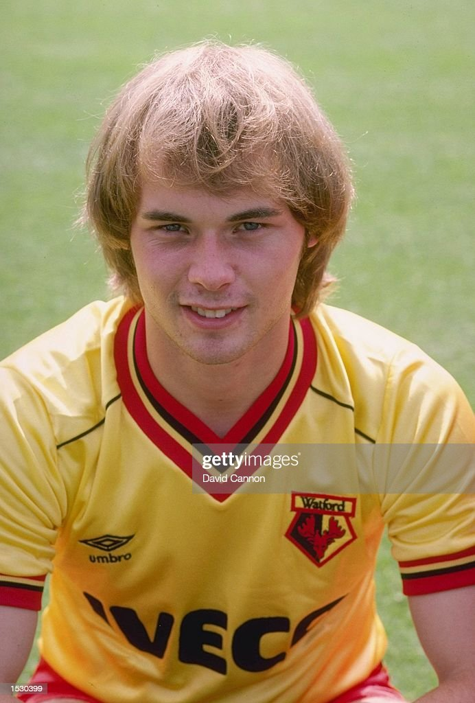 A portrait of Neil Price of Watford taken during the club photocall in Watford. Mandatory Credit: David Cannon/Allsport