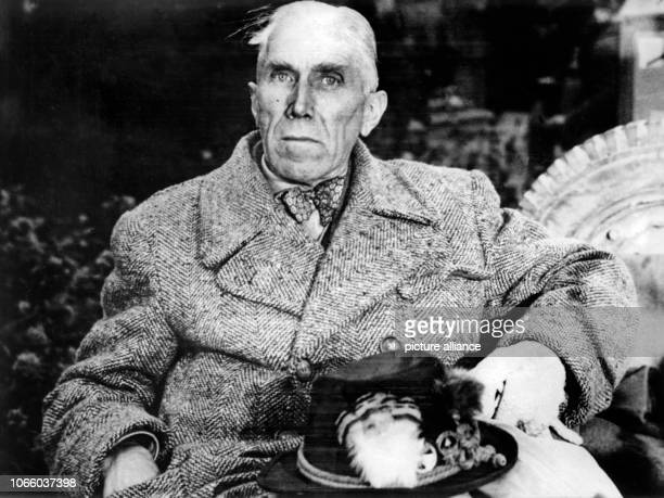 Undated archive picture of Franz von Papen He was chancellor in the Third Reich and vice chancellor until 1934 in the cabinet of Adolf Hitler Pape...