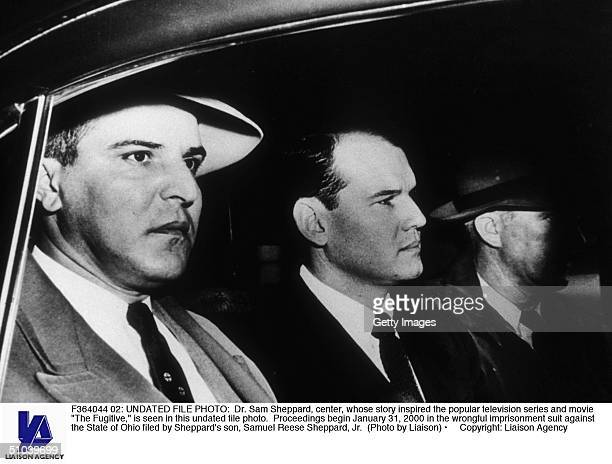 Undated File Photo Dr Sam Sheppard Center Whose Story Inspired The Popular Television Series And Movie 'The Fugitive' Is Seen In This Undated File...