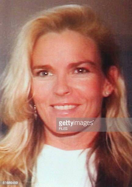 Undated file photo of Nicole Brown Simpson exwife of football superstar OJ Simpson She was killed along with restaurant waiter Ronald Goldman 12 June...