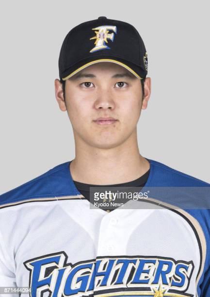 Undated file photo of Nippon Ham Fighters pitcherslugger Shohei Otani Otani on Nov 7 said agent Nez Balelo will represent him in the United States...