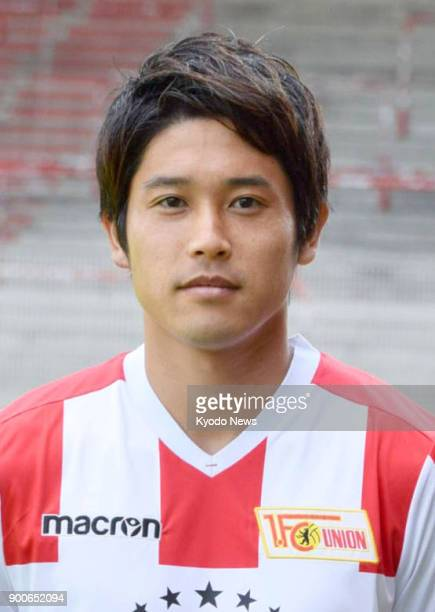 Undated file photo shows Japanese footballer Atsuto Uchida The 29yearold defender who joined German second division side Union Berlin in August 2017...