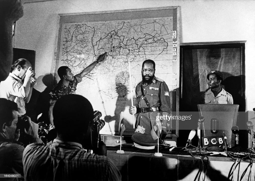 NIGERIA-BIAFRA-OJUKWU : ニュース写真