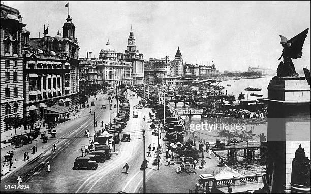 Undated file picture of Shanghai boardwalk