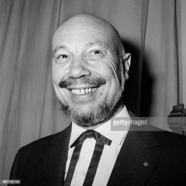 Undated headshot of French actor singer and comic Leo Campion