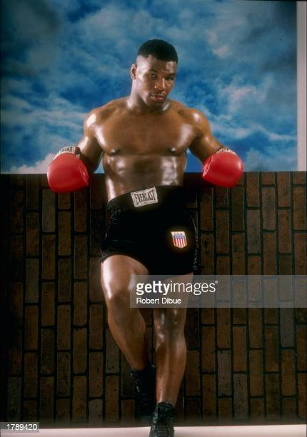 Heavyweight boxer Mike Tyson poses for a portrait