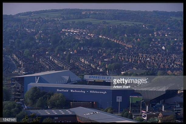 Hillsborough home of Sheffield Wednesday FC One of the venues for the European Championships in England 1996
