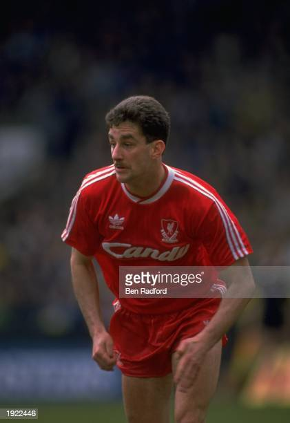 John Aldridge of Liverpool in action during a match against Norwich City at Carrow Road in Norwich Liverpool won the match 10 Mandatory Credit Ben...